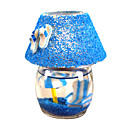 Beachy glazen lamp kaars gunst