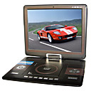17-Zoll Tragbarer DVD-Player mit TV-Funktion, USB-Anschluss, 3-in-1 Kartenleser und Spiele (tra542)