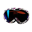 unisex double lays protect ski goggles with anti fog coating(0833-PX1801)