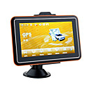 "5"" Portable Car GPS Navigator-FM Transmitter-Media"
