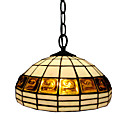 Golden Pearl Tiffany Pendant Light (0923-XCDS027)