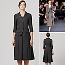 Classic Fashion / Three-quarters Sleeves Lapel Blazer / Women's Blazers (FF-A-1065105)