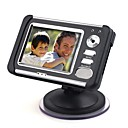 Car DVR + Car Bicamera With LCD Display + Dual Camera + Motion Detection