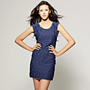 TS Chain Lined Sheath Dress