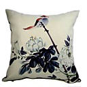 Cushion Cover - Ink Painting Bird(1422)