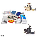 Tattoo Machine Kits With 2 Guns Compact Power Supply and 10 Color Ink