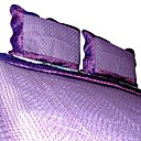 Bliss Bedspread Set (purple) (2038)