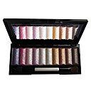 Soft Shimmer 10 Colors Eye Shadow Palette with Free Brush