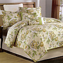Coasty 6pc bedspread set (green)