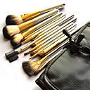 Makeup Brushes Set Kit With Black Case (15 PCS)