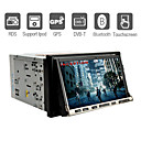 7 Inch 2Din Car DVD Player with GPS IPOD Bluetooth DVB-T RDS