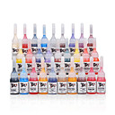 Professional 28 Color Tattoo Ink Set 28 x 5 mL