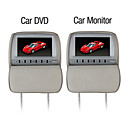 9 Inch Car DVD Player & Monitor with  GameSystem Free Headphones (1 Pair)