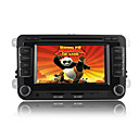 DVD Player Automotivo Multimdia 6.2 polegadas GPS IPOD Bluetooth TV RDS Volkswagen