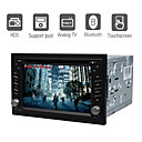 DVD Player Automotivo 6.2 polegadas Bluetooth TV RDS