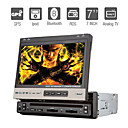 7 pulgadas 1DIN coches reproductor de DVD con GPS rds ipod