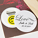 Personalized Bottle Opener/Fridge Magnet - LOVE (set of 12)