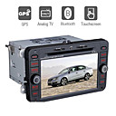 7 polegadas dvd player para carro volkswagen Sagitar / magotzn / caddy / touran com gps