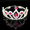 Beautiful Alloy With Rhinestones Wedding Bridal Tiara/ Headpiece