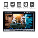 "7"" Digital Touch Screen 2 Din Car DVD Player-GPS-TV-Bluetooth-IPOD"