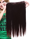 22 inch hoogwaardig synthetisch rechte clip in hair extensions-2 kleuren beschikbaar