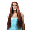 Full Lace Kinky Straight 24&quot; Indian Remy Hair Custom Wig- 26 Colors To Choose