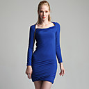 TS Cowl Neck Long Sleeve Dress