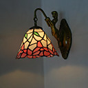 Antique Inspired Wall Light in Tiffany Style