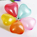 Solid Color Heart-shaped Ballon (set of 100)