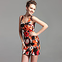TS Vintage Style Floral Print Sheath Dress