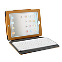 Bluetooth Protective Slim Lined Leather Case For The iPad/iPad 2 with keyboard built-in