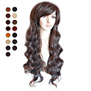 Capless Long Brown Deep Curly Hair Wig Multiple Colors Available