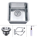 13 inch Undermount Stainless Steel Kitchen Sink (Single Bowl)