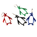 Penguin Shaped Bottle Opener Keychain (Random Color)