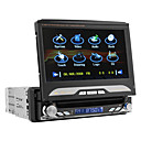 Python - Car DVD Player with 7 Inch Touchscreen (1DIN, GPS, Swivel)
