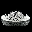 Beautiful Alloy With Cubic Zirconia Wedding Bridal Tiara