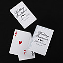 Personalized Playing Cards - Silver Lace