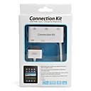 3-Port USB Hub/Camera Connection Kit/Sync/Charger for iPad, iPad 2 and The new iPad