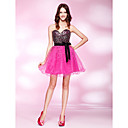A-line Sweetheart Short/ Mini Sequined Cocktail Dress