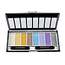 Shimmer 8 Colors Eye Shadow Palette with Free Brush