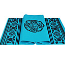serindia estilo eco-friendly antiderrapante pvc yoga pilates mat (6mm)