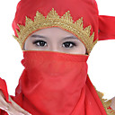 Chiffon With Beading Belly Dance Veil More Colors Available