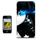 Black Rock Shooter Blue Eye Half-Face Version Anime Case for iPhone 4/4s