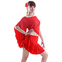 Dancewear Polyester Latin Dance Outfit For Ladies