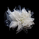 Gorgeous Satin/ Tulle With Rhinestone Wedding Bridal Flowers/ Headpiece