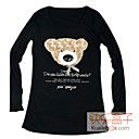 kuailebox pajarita panda negro t-shirt