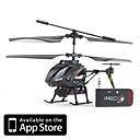 iCam Helicopter with 0.3 Megapixel Camera for iPhone, iPad and Android (Black)
