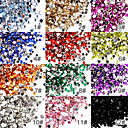50 Nail Art Acrylic Rhinestones 2mm Decoration
