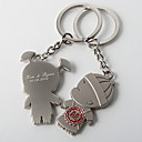Personalized Key Ring Wedding Favor  Asian Wedding (Set of 4 Pairs)