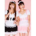 Cute Girl Lace Polyester Maid Suit (4 Pieces)